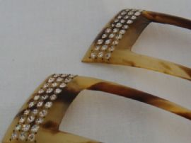 Matching Pair of Hair Combs - Edwardian - 1920s (Sold)
